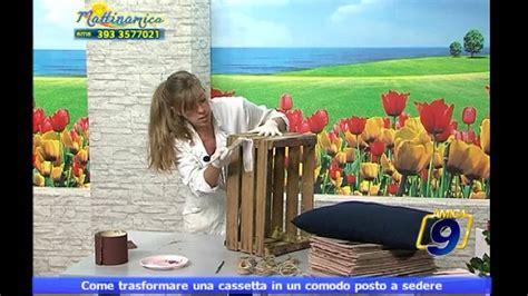foto di un sedere come trasformare una cassetta in un comodo posto a sedere