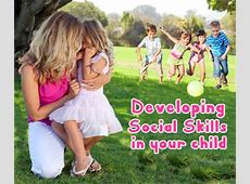 Developing Social Skills in Babies and Toddlers Introverted Child