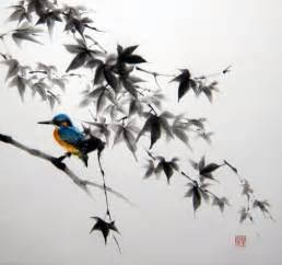 Magnolia Flower Paintings - pittura arte giapponese arte asiatica carta di riso di