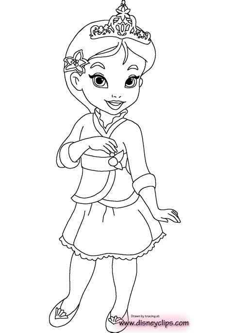 Little Princess Coloring Pages Download And Print For Free Coloring Pages Of Baby Princesses