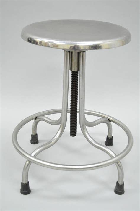 Stainless Steel Stools Vintage Stainless Steel American Industrial Modern