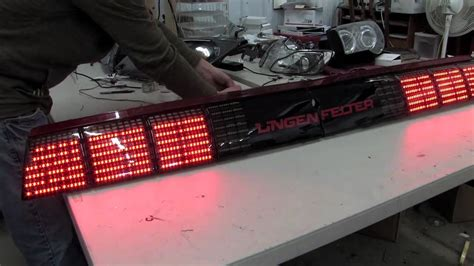 4th gen trans am tail lights lingenfelter trans am led tail lights youtube