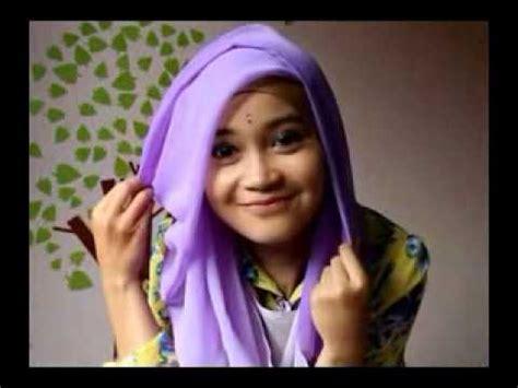 tutorial hijab segitiga casual cara memakai jilbab segi empat modern doovi