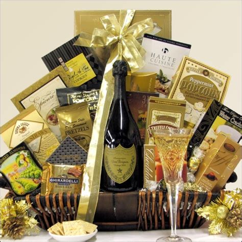 gourmet gifts 6 chagne choices and gourmet basket chagne gift