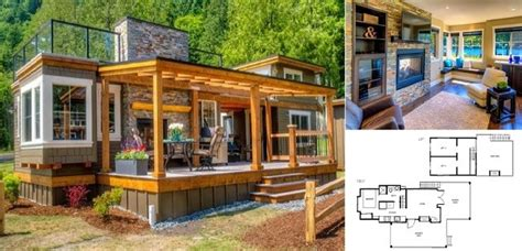 Luxury Tiny Cottage with Rooftop Terrace   Home Design