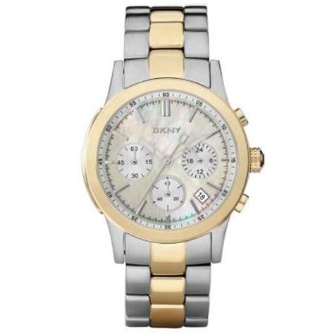 dkny gold silver chronograph ny8061