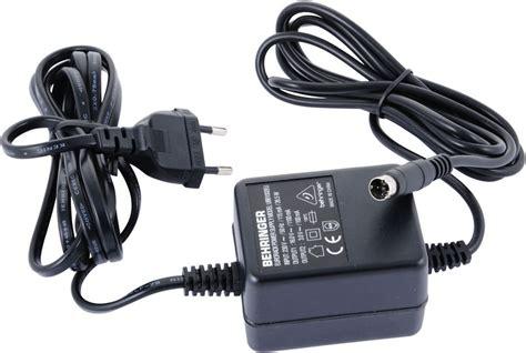 Adaptor Mixer Behringer behringer mx4 eu power supply thomann uk