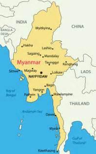political map of myanmar myanmar map physical outline political blank myanmar maps