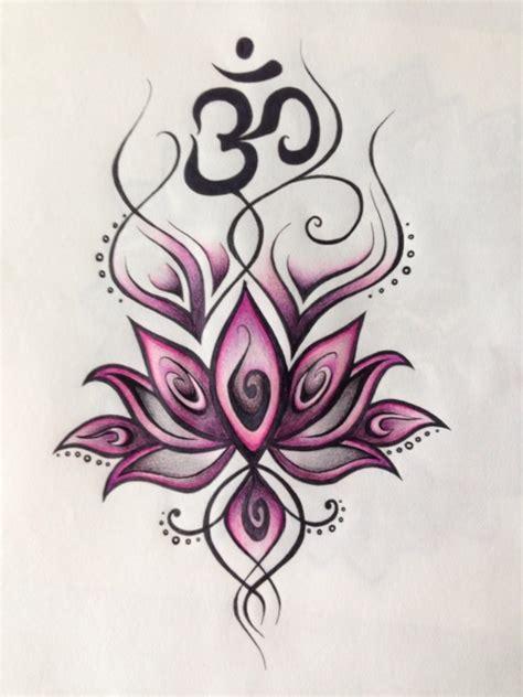 tatto fiore di loto fiore di loto