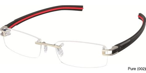 buy tag heuer track s 7642 eyewear rimless frameless