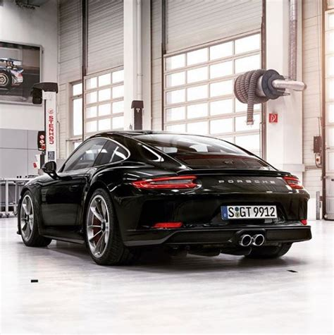 black porsche 911 gt3 2018 porsche 911 gt3 touring package looks bewitching in