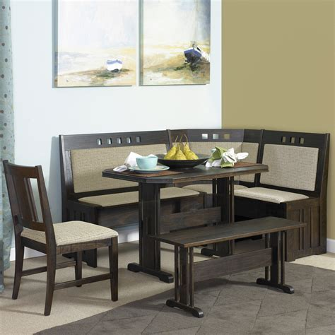 Kitchen Table Nook Dining Set Delightful Dining Table With Banquette Seating Kitchen Nook Set Surripui Net