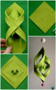 Paper Craft Ideas For Free - diy ornament craft ideas for to make