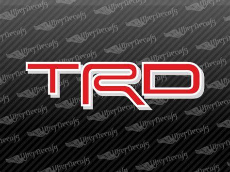 Toyota Truck Stickers Toyota Trd Logo Decal Stickers Car Stickers Custom