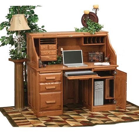 Roll Top Computer Desks For Home Roll Top Computer Desk Home Furniture Design