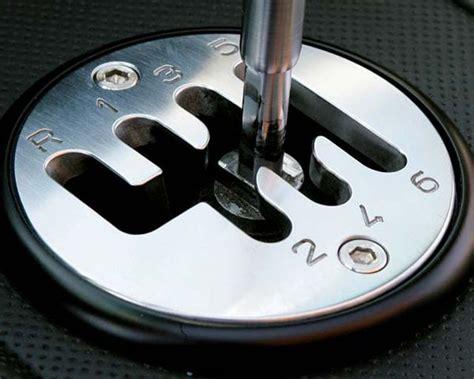 Lamborghini Stick Shift Lambo Style Shift Plate My350z Forums