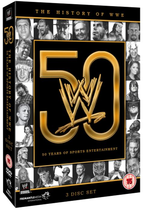 the history of the wwe 50 years of sports entertainment pre history of wwe 50 years of sports entertainment dvd