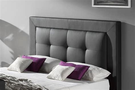 back of bed bowburn leather double tv bed inc free pocket memory foam