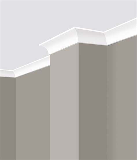 Simple Cornice Design Gyprock Csr 3m X 55mm Cove Plaster Cornice Contemporary