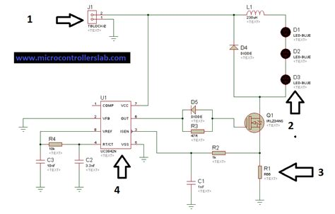 led driver circuit diagram 26 wiring diagram images