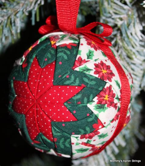 mommy s apron strings quilted star ornaments