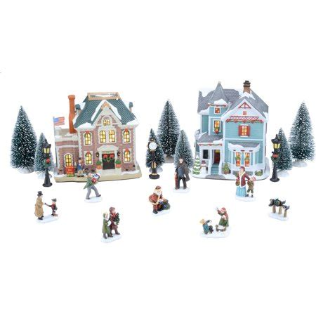 walmart holiday time christmas village by