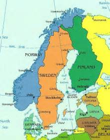 carte scandinavie voyages cartes