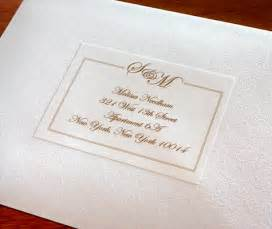 how to make mailing labels for wedding invitations address labels to match your wedding invitations