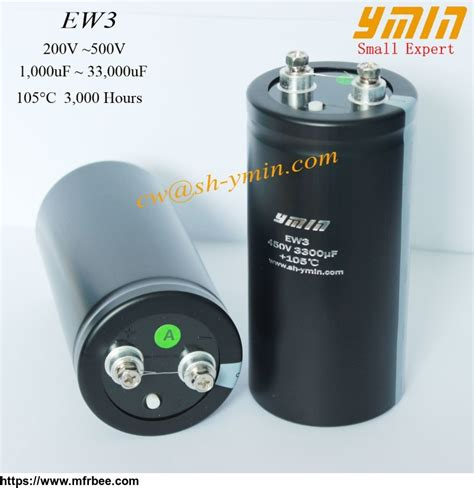 power capacitor high power capacitor terminal aluminum electrolytic capacitor for ups and power supply