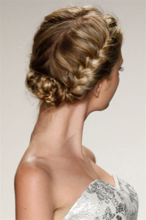 Wedding Hairstyle Braids by Gorgeous Braided Wedding Hairstyles Bridalguide