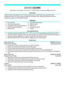 Customer Service Sle Resume by Sales Associate Customer Service Sales Associate Skills For Resume