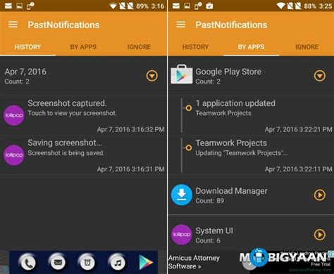 android notification history how to recover lost notifications on android guide