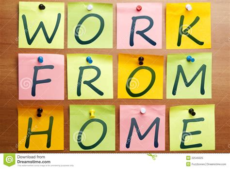 Free Work From Home by Work From Home Ad Royalty Free Stock Photo Image 22545025