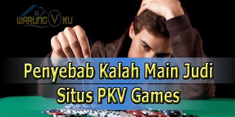 penyebab pemain kalah  permainan poker situs pkv games