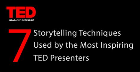 7 Storytelling Techniques Used By The Most Inspiring Ted Presenters Visual Learning Center By Ted Talk Presentation Template