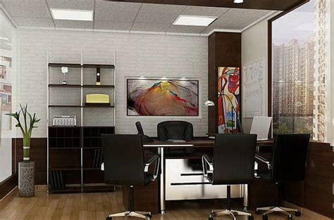 Manager Cabin Interior by Modern Office Cabin Interior Design Office Cabin Interior
