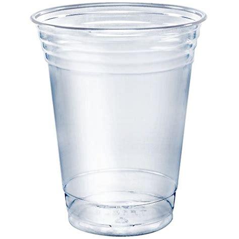 Gelas Set 2 clear plastic cups plastic drink cups