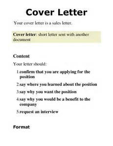 cover letter sle for document 2 cover letter presentation