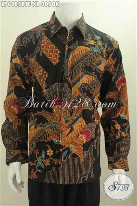 Dress Cocok Buat Ke Kantor kemeja batik pria dewasa hem batik halus proses kombinasi