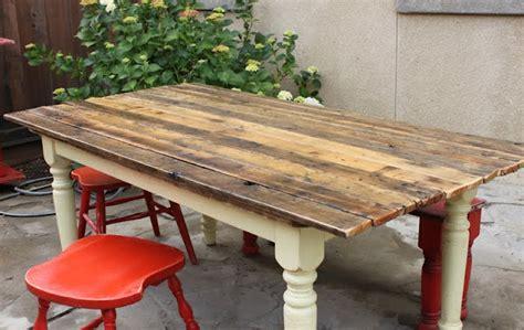 great diy pallet farm table desk pallets designs