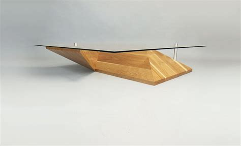 Unique Modern Coffee Tables Modern Coffee Table In Unique Folded Shape Origami Coffee Table Home Building Furniture