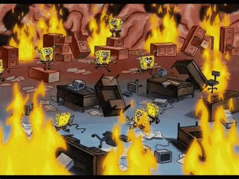 Spongebob Delete GIF   Spongebob Delete Panic   Discover