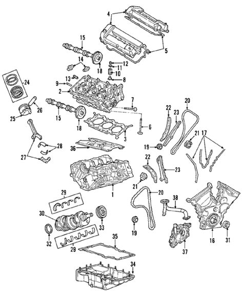 2002 ford escape parts diagram 2002 ford escape parts mileoneparts
