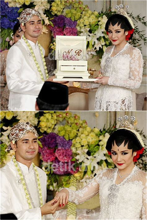 Baju Adat Jawa Nikah foto penilan raffi nagita slavina berbusana adat jawa saat akad nikah
