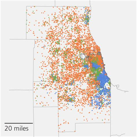 chicago map in r chicago argus chicago s self segregation hurts city s