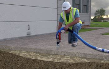 sinking foundation repair cost how polylevel polyurethane concrete lifting works