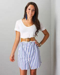 Rok Shabby Kawaii Import Skirt repurposed s shirts recycled skirt upcycled s clothing funky style shabby chic eco