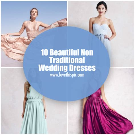 Wedding Quotes Non Traditional by Non Traditional Wedding Dresses Quotes