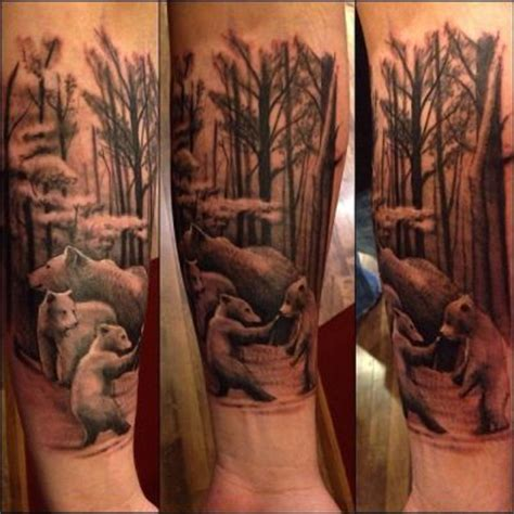 mama bear tattoo and cubs tattoos search ideas