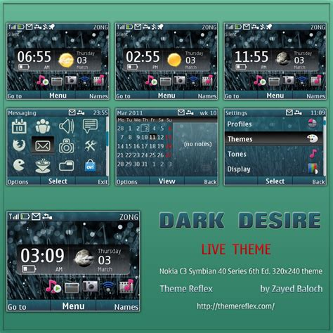 themereflex nokia x2 dark desire live theme for nokia c3 x2 01 themereflex